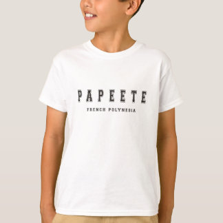 Papeete French Polynesia T-Shirt