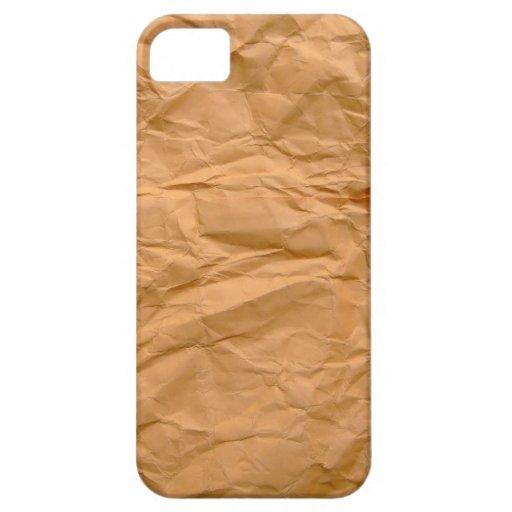 Papel amassado Paper iPhone 5 Carcasas