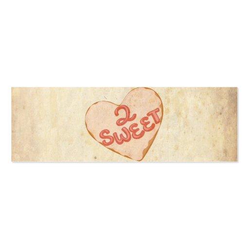 Papel antiguo viejo del vintage del amor retro del plantilla de tarjeta de negocio