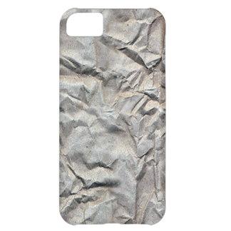 Papel arrugado funda para iPhone 5C