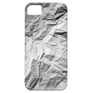 Papel arrugado iPhone 5 carcasas