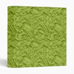 Papel arrugado retro de la verde menta