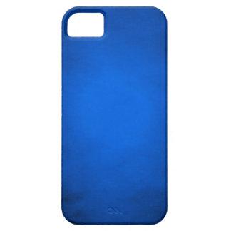 Papel azul arrugado con el proyector funda para iPhone SE/5/5s