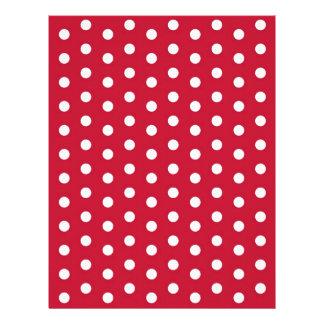 Papel blanco rojo del libro de recuerdos del bebé plantilla de membrete