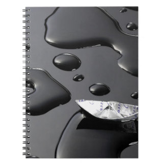 papel boat3 - Copia Spiral Notebook