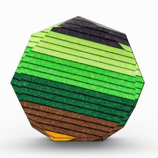 papel coloreado del modelo