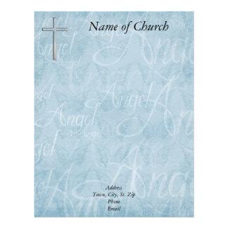 Papel con membrete cristiano membrete