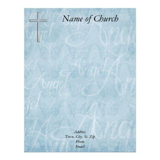 Papel con membrete cristiano membrete personalizado