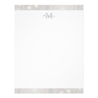 papel con membrete de encargo del membrete a diseño