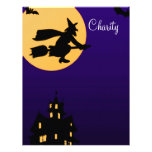 Papel con membrete de Halloween de la caridad