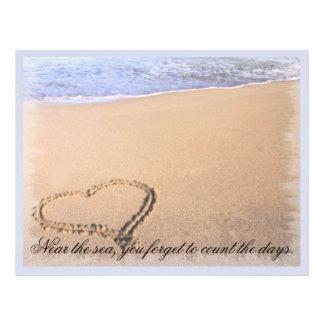 Papel con membrete de la playa plantilla de membrete