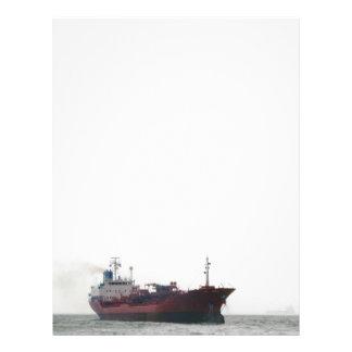Papel con membrete del buque de carga membretes personalizados