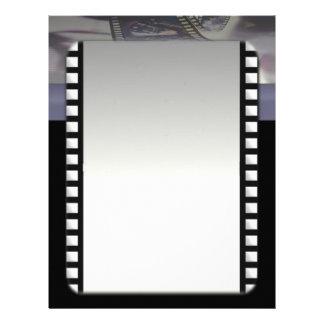Papel con membrete del cineasta membrete personalizado
