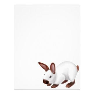 Papel con membrete Himalayan del conejo Membrete Personalizado