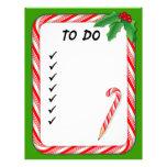Papel con membrete, navidad para hacer la lista de plantillas de membrete