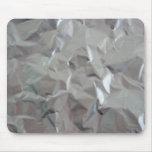 Papel de aluminio tapetes de ratones