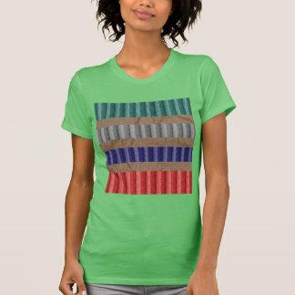Papel de Brown acanalado coloreado de la cartulina Camisetas