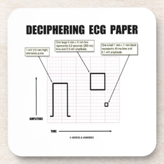 Papel de desciframiento de ECG