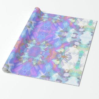 Papel de embalaje abstracto purpúreo claro papel de regalo