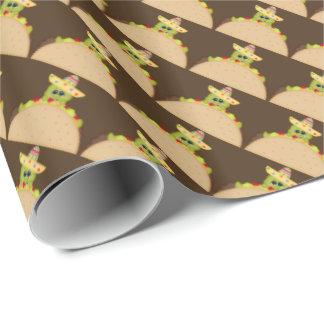 Papel de embalaje al sudoeste de la tortuga del papel de regalo