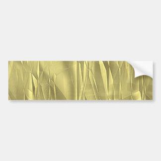 Papel de embalaje arrugado del navidad de la hoja  etiqueta de parachoque