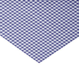 PAPEL de EMBALAJE Azul-Blanco del Guinga-TEJIDO Papel De Seda Pequeño