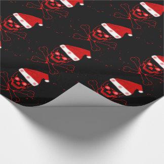 Papel de embalaje/cráneo papel de regalo
