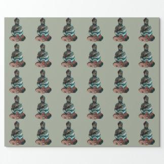 Papel de embalaje de Buda de la piedra preciosa Papel De Regalo