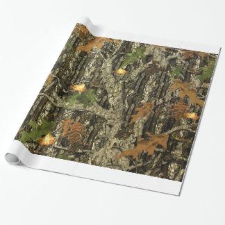 Papel de embalaje de Camo de la caza Papel De Regalo