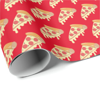 Papel de embalaje de fusión caliente de la pizza papel de regalo