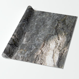 Papel de embalaje de la corteza de árbol papel de regalo