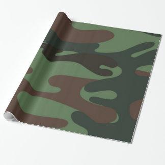 Papel de embalaje de la diversión del modelo de papel de regalo