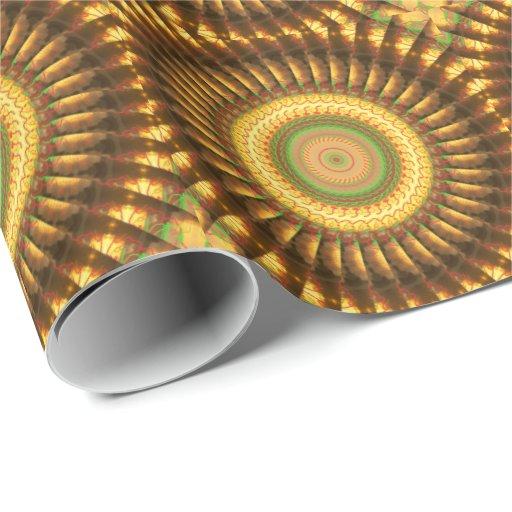 Papel de embalaje de la mandala 2 papel de regalo