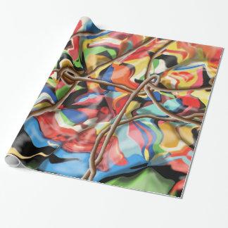 Papel de embalaje de la pintada papel de regalo