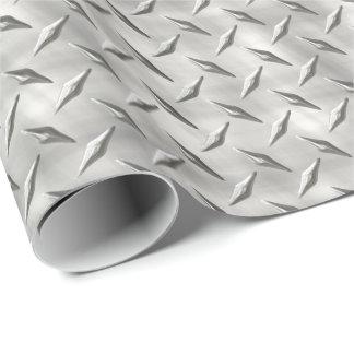 Papel de embalaje de la placa 1 del diamante papel de regalo