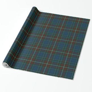 Papel de embalaje de la tela escocesa de tartán de papel de regalo