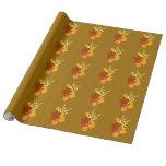 Papel de embalaje de las hojas de otoño