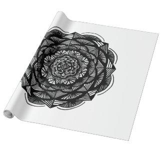 Papel de embalaje de lino papel de regalo