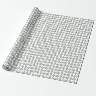 Papel de embalaje de los gris plateados de papel de regalo