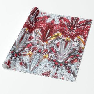 Papel de embalaje de lujo de la decoración del papel de regalo