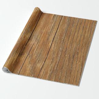Papel de embalaje de madera del grano
