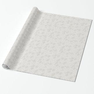 Papel de embalaje de marfil elegante de la mirada papel de regalo