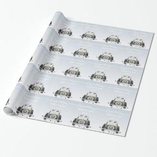Papel de embalaje de moda personalizado del boda papel de regalo
