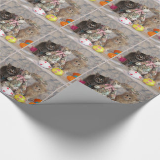 Papel de embalaje de Pascua de Buffington y de Papel De Regalo