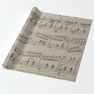 Papel de embalaje de vals corriente papel de regalo