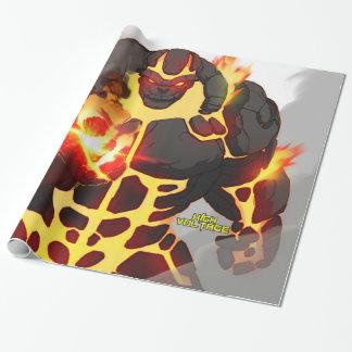 Papel de embalaje del alquitrán papel de regalo