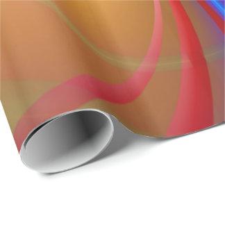 Papel de embalaje del arte abstracto 104 papel de regalo