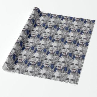 Papel de embalaje del arte del vampiro de los