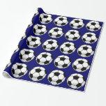 Papel de embalaje del balón de fútbol