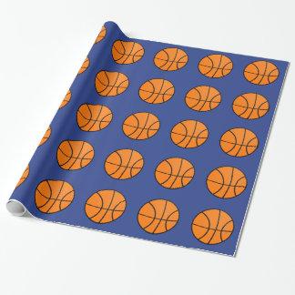 Papel de embalaje del baloncesto papel de regalo